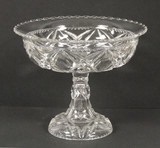 Albany Pattern EAPG Compote - Tarentum Glass