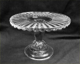 Cordova Pattern EAPG Pedestal Cake Stand