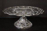 Sunk Jewel EAPG Pedestal Cake Stand