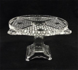 Ashman Pattern Antique EAPG Pedestal Cake Stand