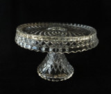 Virginian Pattern Pedestal Cake Stand Cambridge Glass