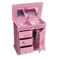Krista Girl's Musical Ballerina Jewelry Box Plays Waltz of the Flowers