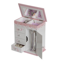 Cristiana Girl's Musical Ballerina Jewelry Box Plays Waltz of the Flowers