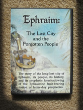 Ephraim: The Lost City and the Forgotten People, DVD front cover.