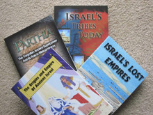 Lost Tribes Of Israel Series 4 Volume Set by Steven M. Collins Complete Four-Volume Set!  We offer a special discount when ordering together all at one time a complete set of four books in the lost tribes of Israel series: only $72.00 per set plus freight charged at checkout. This is a 10% discount off the regular price of these books. The titles include: The Origins and Empire of Ancient Israel, Israel's Lost Empires, Parthia, and Israel's Tribes Today. See the separate listings for these books for a complete description of the contents of each book.