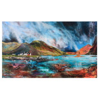 White Houses Red Boats, Plockton (card)