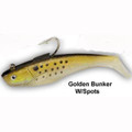 "Tsunami Lures Heavy Duty Shad 9"" 6 1/4 oz (Golden Bunker)"