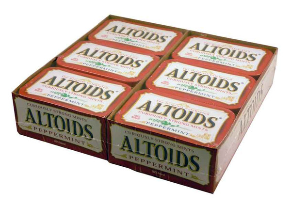 Altoids Peppermint, by Altoids,  and more Confectionery at The Professors Online Lolly Shop. (Image Number :1912)