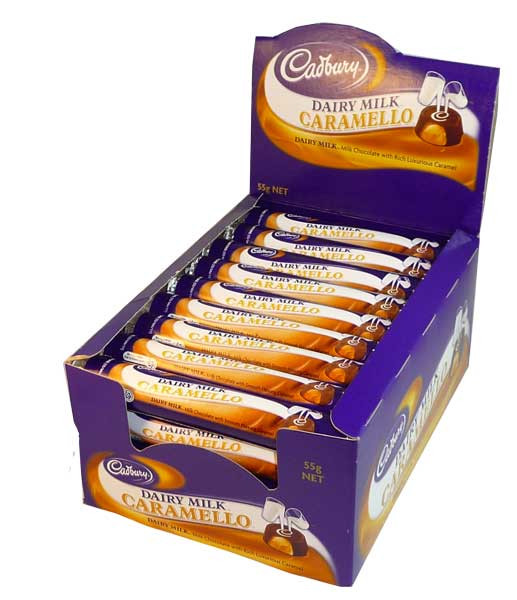 Cadbury Caramello Rolls, by Cadbury,  and more Confectionery at The Professors Online Lolly Shop. (Image Number :2593)
