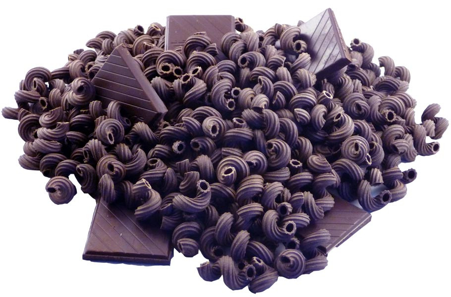 how to make chocolate pasta