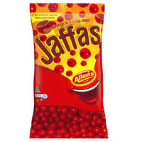 Jaffas, by Allens Confectionery,  and more goodies at The Professors Online Lolly Shop. (Image Number :6368)