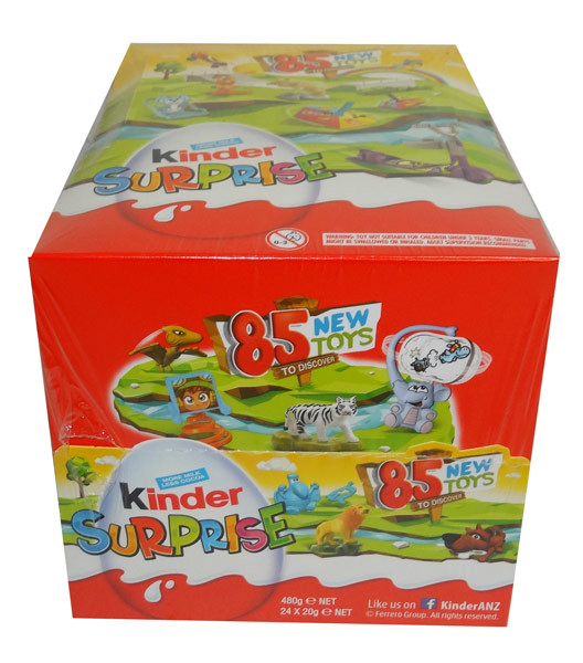 Kinder Surprise, by Kinder/Kinder Bueno,  and more Confectionery at The Professors Online Lolly Shop. (Image Number :9641)