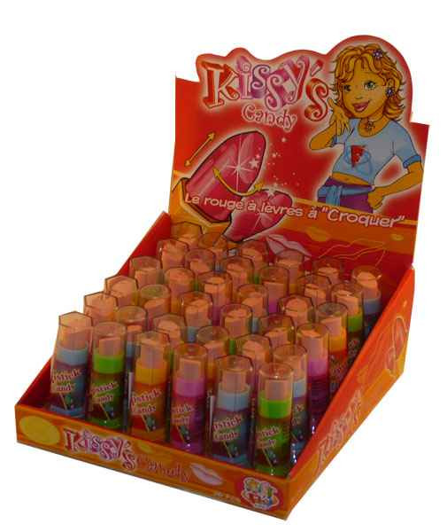 Kissy s Candy Lipstick, by Candy Brokers,  and more Confectionery at The Professors Online Lolly Shop. (Image Number :2041)