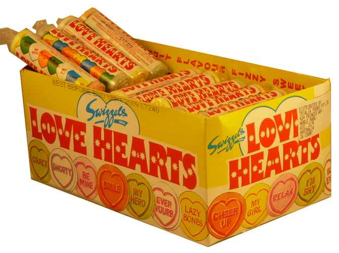 Love Hearts (Our main image of this Confectionery)