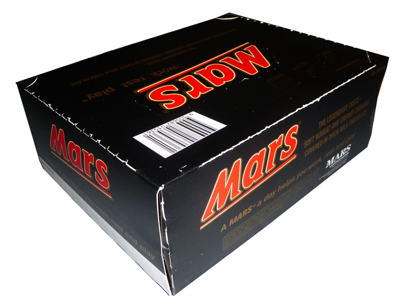 Mars Bar, by Mars,  and more Confectionery at The Professors Online Lolly Shop. (Image Number :3207)