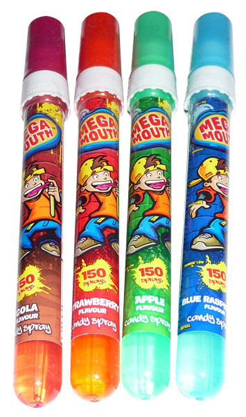 Mega Mouth, by Myriad Marketing,  and more Confectionery at The Professors Online Lolly Shop. (Image Number :4101)