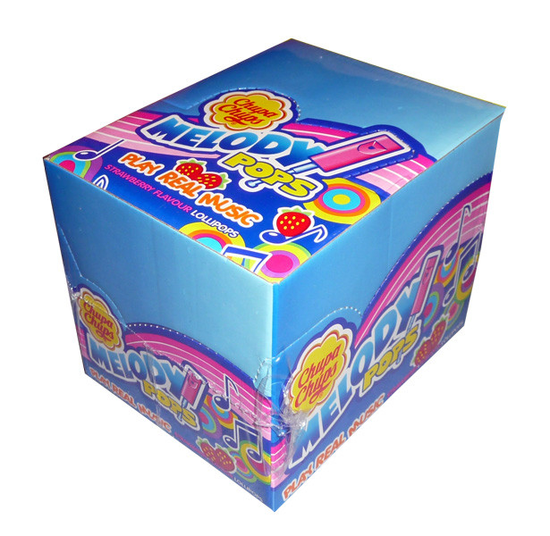 Chupa Chup Melody Pops, by Cadbury/Chupa Chups/Perfetti Van Melle,  and more Confectionery at The Professors Online Lolly Shop. (Image Number :3772)