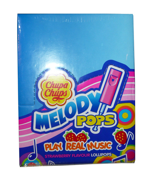 Chupa Chup Melody Pops, by Cadbury/Chupa Chups/Perfetti Van Melle,  and more Confectionery at The Professors Online Lolly Shop. (Image Number :3773)