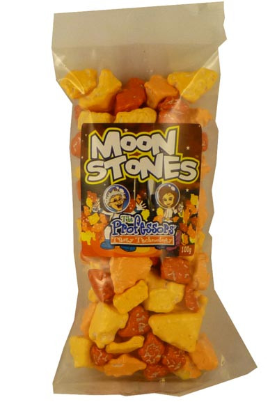 Moon Stones, by The Professors Tasty Technology,  and more Confectionery at The Professors Online Lolly Shop. (Image Number :2293)