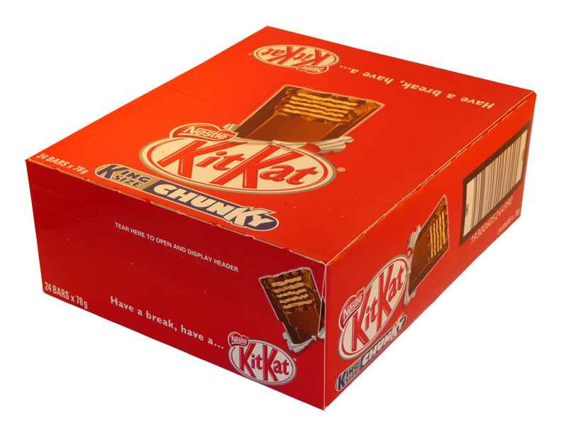 Nestle Kit Kat King Size Chunky, by Nestle,  and more Confectionery at The Professors Online Lolly Shop. (Image Number :2092)