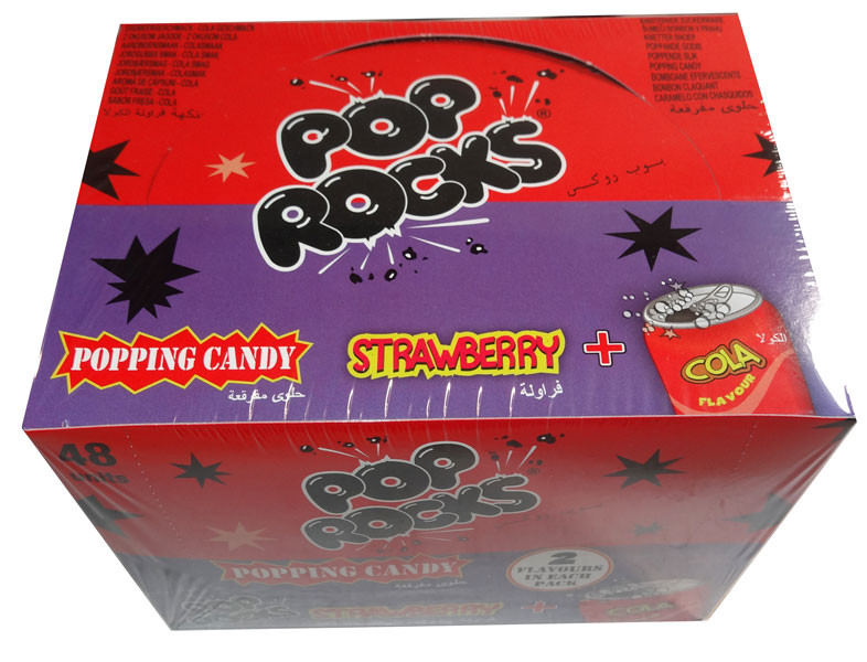 Pop Rocks Twin Packs - Strawberry + Cola, by Pop Rocks and Zeta Espacial,  and more Confectionery at The Professors Online Lolly Shop. (Image Number :8025)