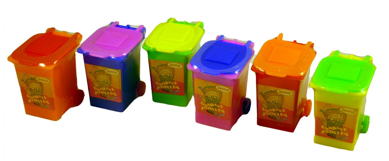Sweetmans Garbage Trolleys, by Sweetmans,  and more Confectionery at The Professors Online Lolly Shop. (Image Number :2271)