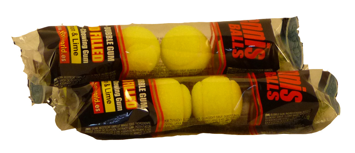Tennis Balls, by Other,  and more Confectionery at The Professors Online Lolly Shop. (Image Number :2275)