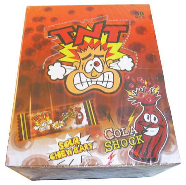 TNT Shocks - Cola, by TNT,  and more Confectionery at The Professors Online Lolly Shop. (Image Number :3369)