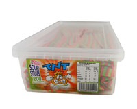 TNT Sour Straps Watermelon, by TNT,  and more Confectionery at The Professors Online Lolly Shop. (Image Number :9523)