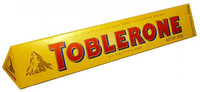 Toblerone Milk Chocolate Bar, by Other,  and more Confectionery at The Professors Online Lolly Shop. (Image Number :2163)