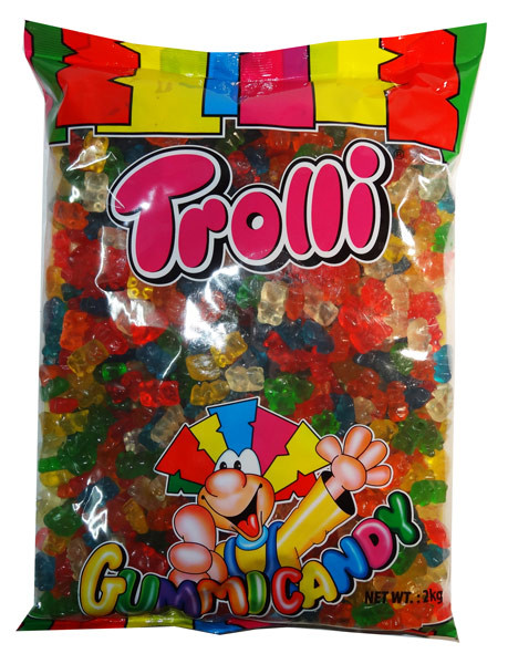 Trolli Bears 2kg bulk bag, by Trolli,  and more Confectionery at The Professors Online Lolly Shop. (Image Number :7863)