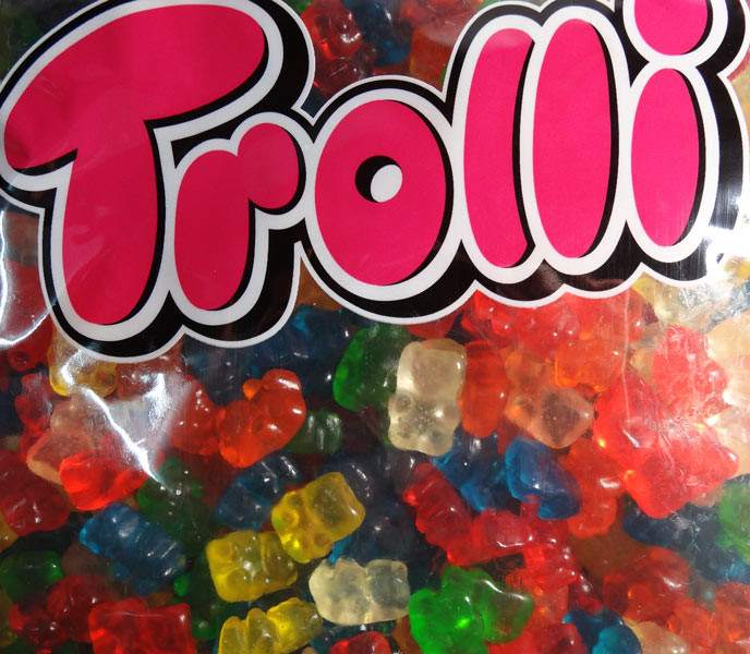 Trolli Bears 2kg bulk bag, by Trolli,  and more Confectionery at The Professors Online Lolly Shop. (Image Number :7864)