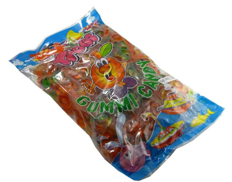 Trolli Friendship Rings 2kg Bulk Bag, by Trolli,  and more Confectionery at The Professors Online Lolly Shop. (Image Number :2174)