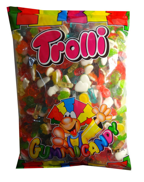 Trolli Groovy Mix 2kg Bulk Bag, by Trolli,  and more Confectionery at The Professors Online Lolly Shop. (Image Number :7892)