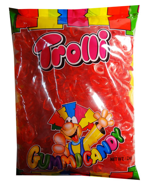 Trolli Lips 2kg Bulk Bag, by Trolli,  and more Confectionery at The Professors Online Lolly Shop. (Image Number :7879)