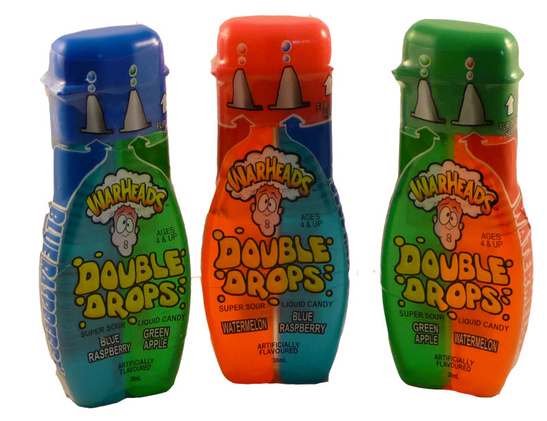 Warhead Double Drops, by Warheads,  and more Confectionery at The Professors Online Lolly Shop. (Image Number :2325)