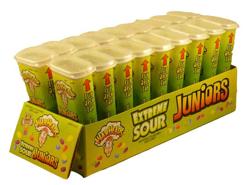 Warheads Extreme Sour Juniors, by Warheads,  and more Confectionery at The Professors Online Lolly Shop. (Image Number :2188)