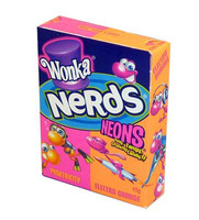 Willy Wonka Nerds - Neons, by Wonka,  and more Confectionery at The Professors Online Lolly Shop. (Image Number :2199)