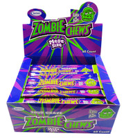 Zombie Chews - Sour Grape, by Sweetmans,  and more Confectionery at The Professors Online Lolly Shop. (Image Number :8324)