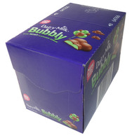 Cadbury Dairy Milk Bubbly with Mint Flavoured Bubbles (36 x 40gm bars in a Display Box)