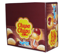 Chupa Chups Twice - Choco and Vanilla, by Chupa Chups,  and more Confectionery at The Professors Online Lolly Shop. (Image Number :2504)