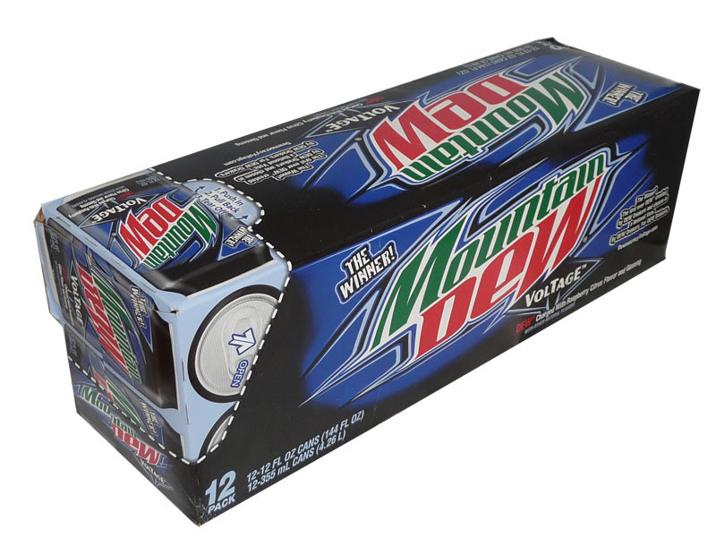 Mountain Dew Voltage, by Mountain Dew,  and more Beverages at The Professors Online Lolly Shop. (Image Number :2507)