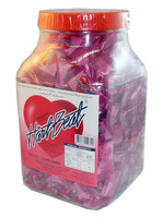 Hart Beat Love Candy - Strawberry, by Candy Brokers/General Candy Co,  and more Confectionery at The Professors Online Lolly Shop. (Image Number :2539)