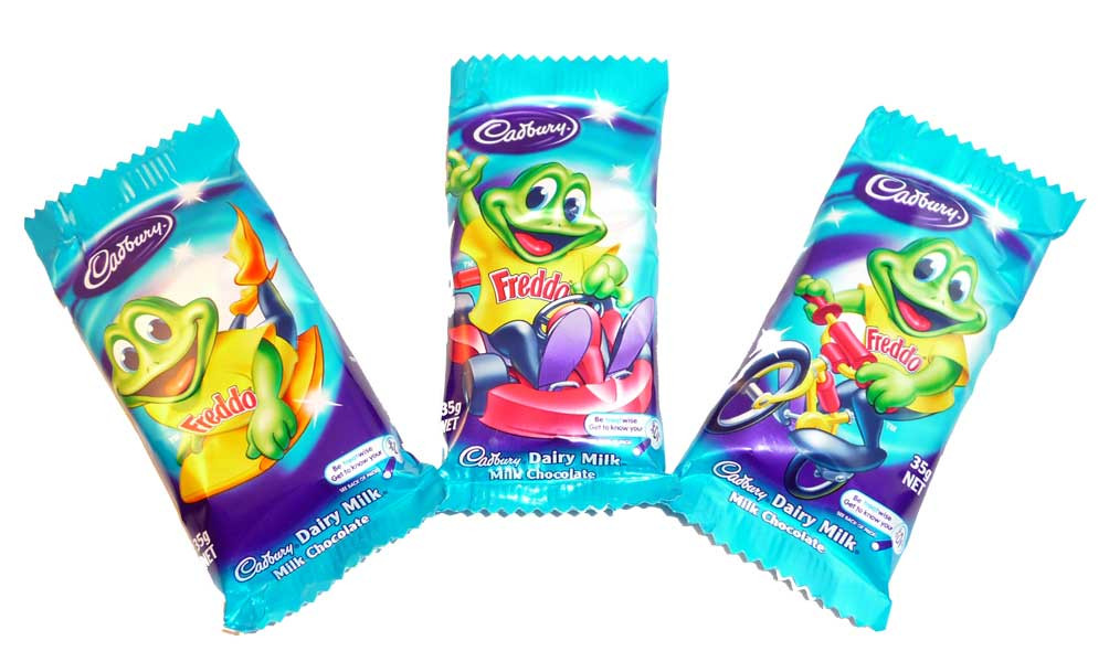 Cadbury Freddo Frog Giant, by Cadbury,  and more Confectionery at The Professors Online Lolly Shop. (Image Number :2600)