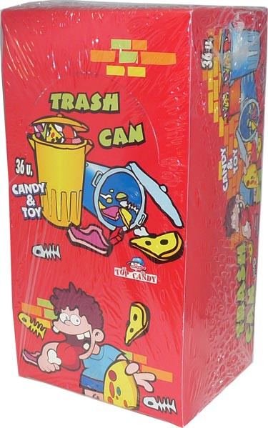 Trash Can, by Candy Brokers,  and more Confectionery at The Professors Online Lolly Shop. (Image Number :2603)