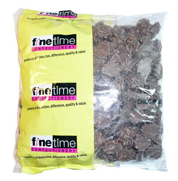 Finetime Choc Buds, by Confectionery Trading Company/FineTime,  and more Confectionery at The Professors Online Lolly Shop. (Image Number :2649)