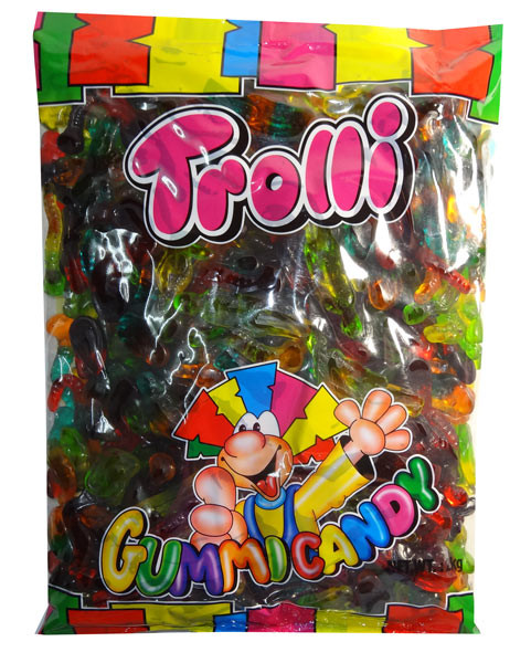 Trolli Horror Mix 2kg bag, by Trolli,  and more Confectionery at The Professors Online Lolly Shop. (Image Number :7894)