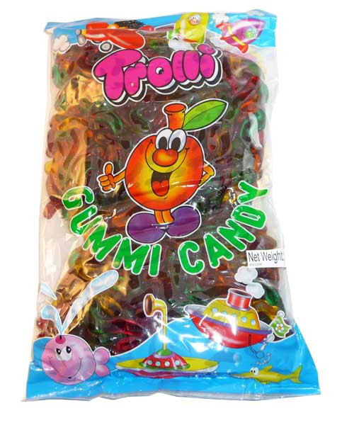 Trolli Neon Squiggles 2kg bag, by Trolli,  and more Confectionery at The Professors Online Lolly Shop. (Image Number :2806)