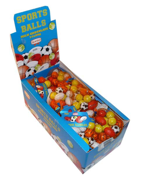 Sorini Sports Balls, by Sorini - Creative Confectionery,  and more Confectionery at The Professors Online Lolly Shop. (Image Number :2697)