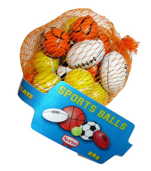 Sorini Sports Balls, by Sorini - Creative Confectionery,  and more Confectionery at The Professors Online Lolly Shop. (Image Number :2698)